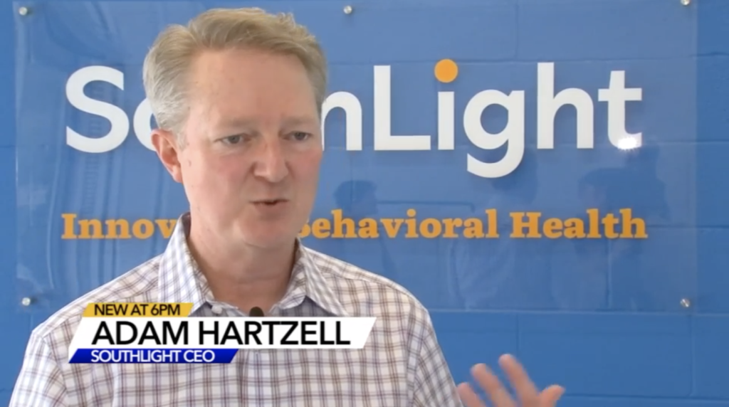 SouthLight CEO Adam Hartzell talks to ABC 11 about the growing Opioid Crisis